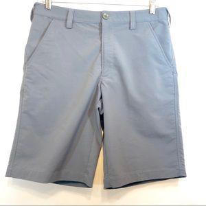 Under Armor flat pocket shorts